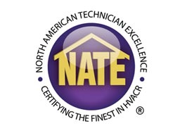 Polar Heating and Air Conditioning is a NATE Certified HVAC Contractor